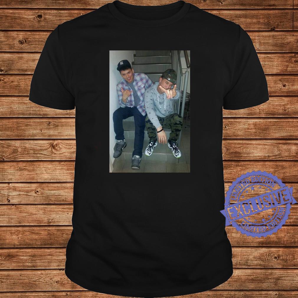 Cory & Andy Shirt long sleeved