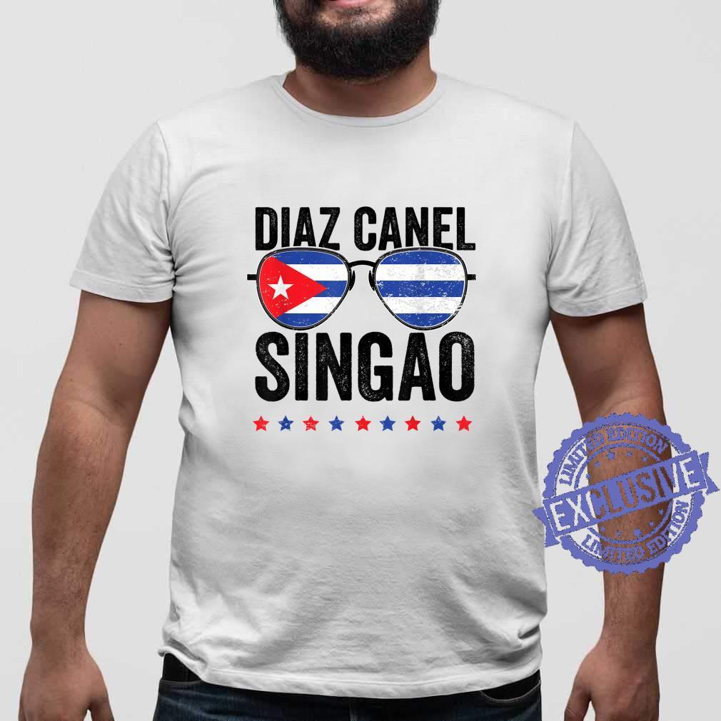 Diaz Canel Singao Sos Cuba Flag Libre Libertad Free Cuba Shirt sweater