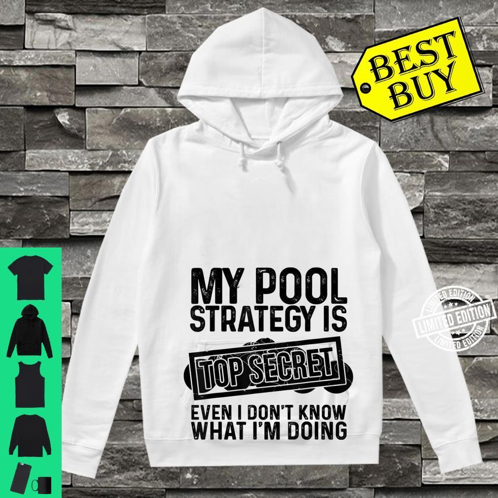 Funny Pool Player Billiards Game Play Shirt hoodie