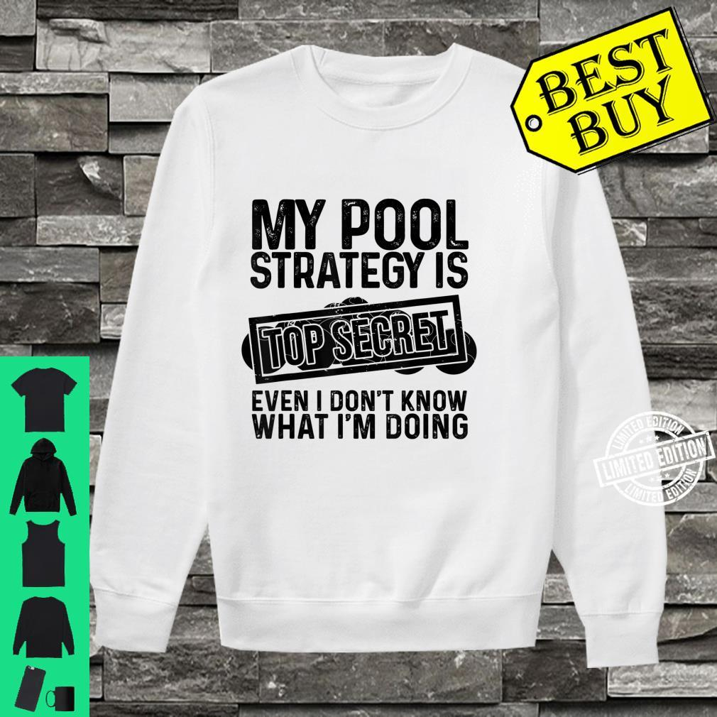Funny Pool Player Billiards Game Play Shirt sweater
