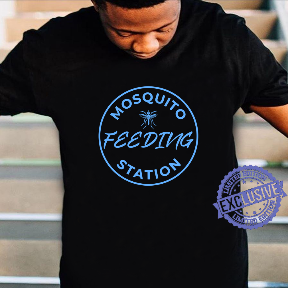 Hiker Mosquito Feeding Station Design Shirt