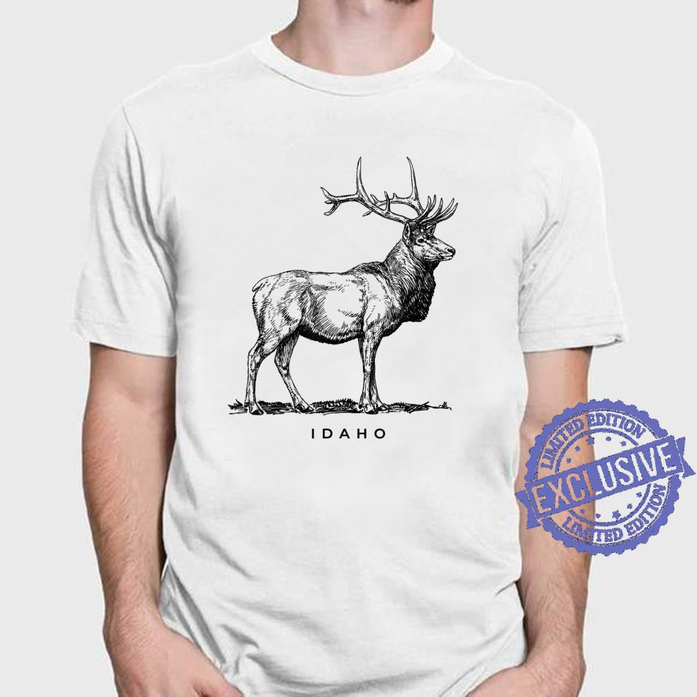 Idaho With An Elk Shirt