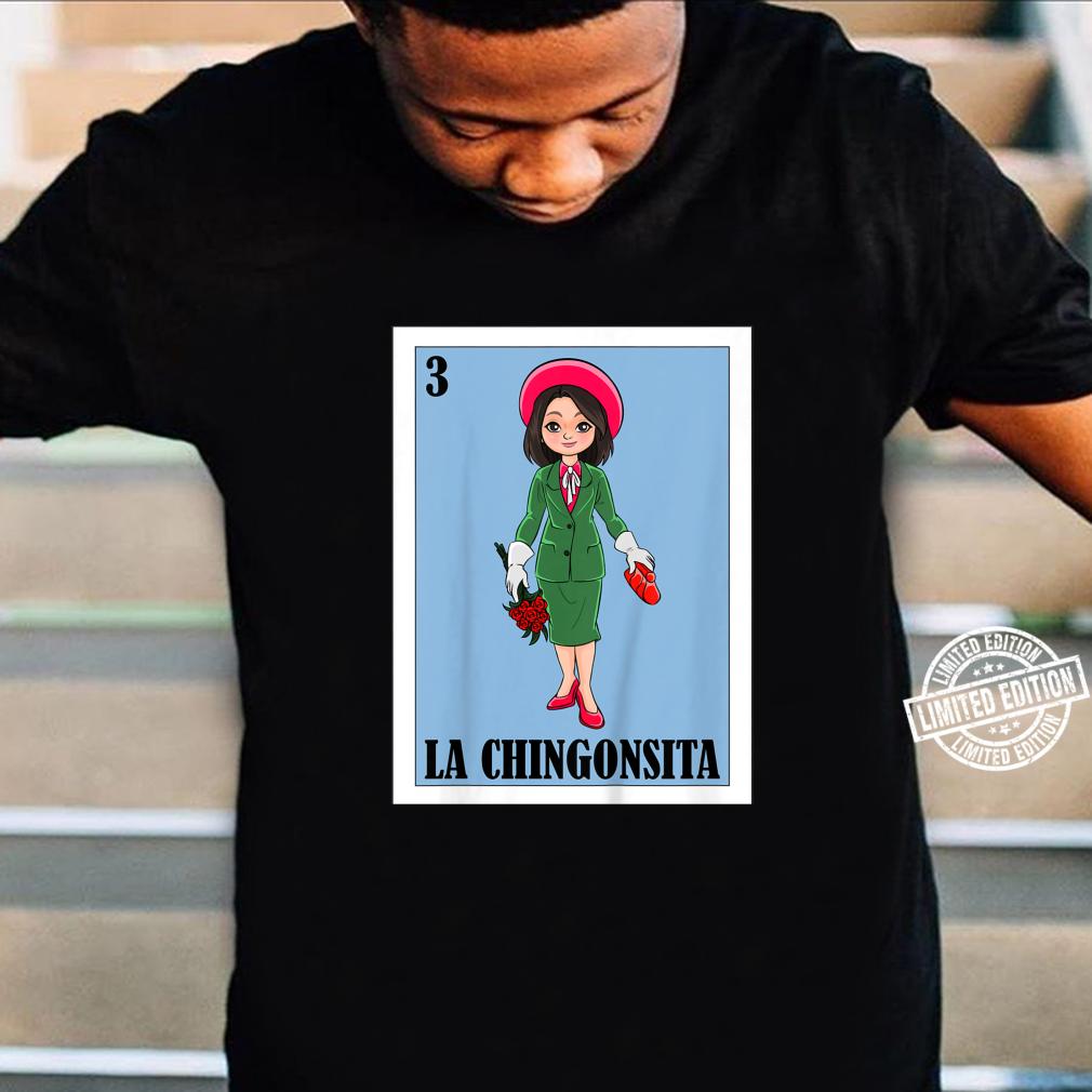 Kids Mexican Lottery for Mexican Bingo La Chingonsita Shirt