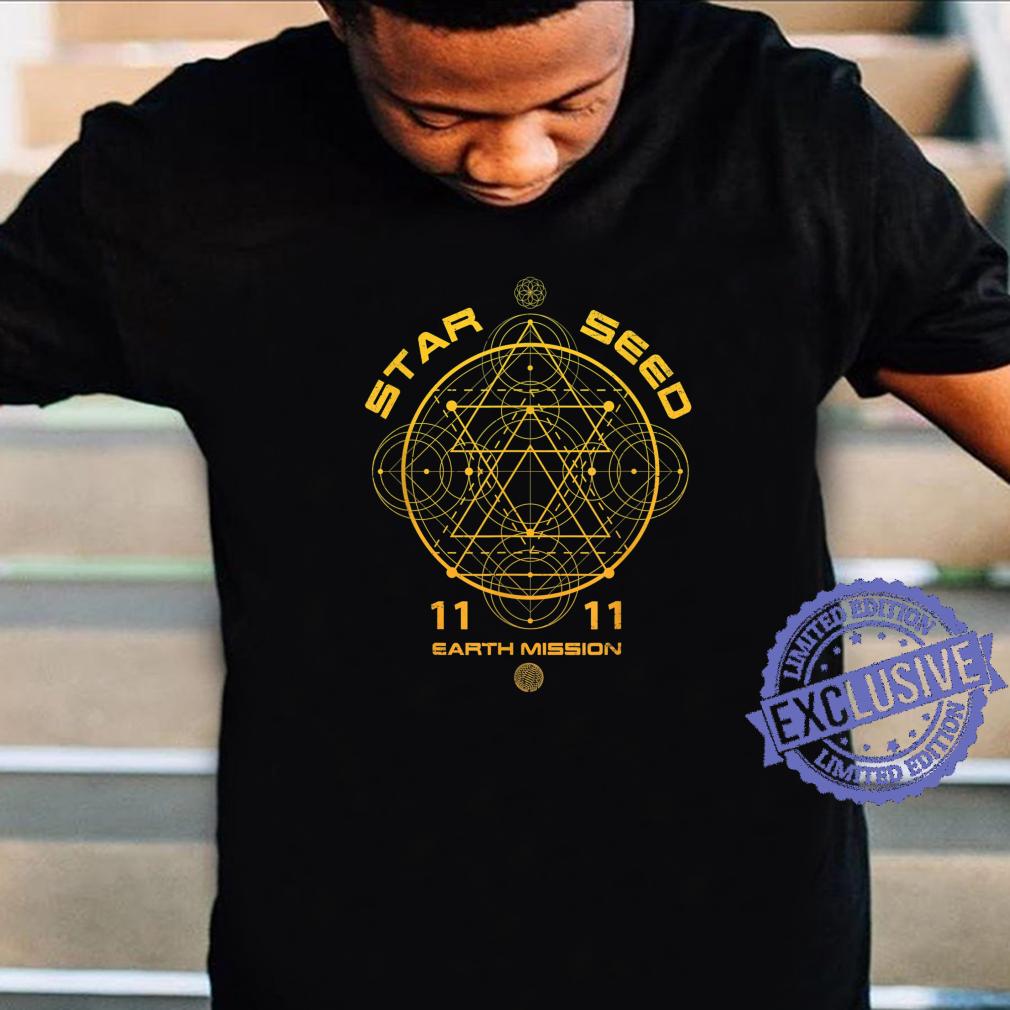 Starseed Sacred Geometry Shirt