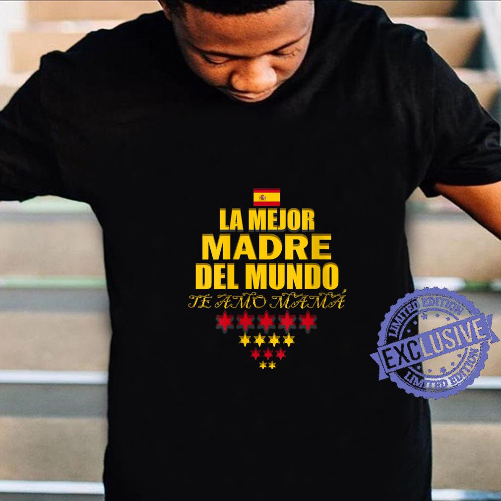 Womens La mejor Madre Del Mundo, Mothers Day Shirt