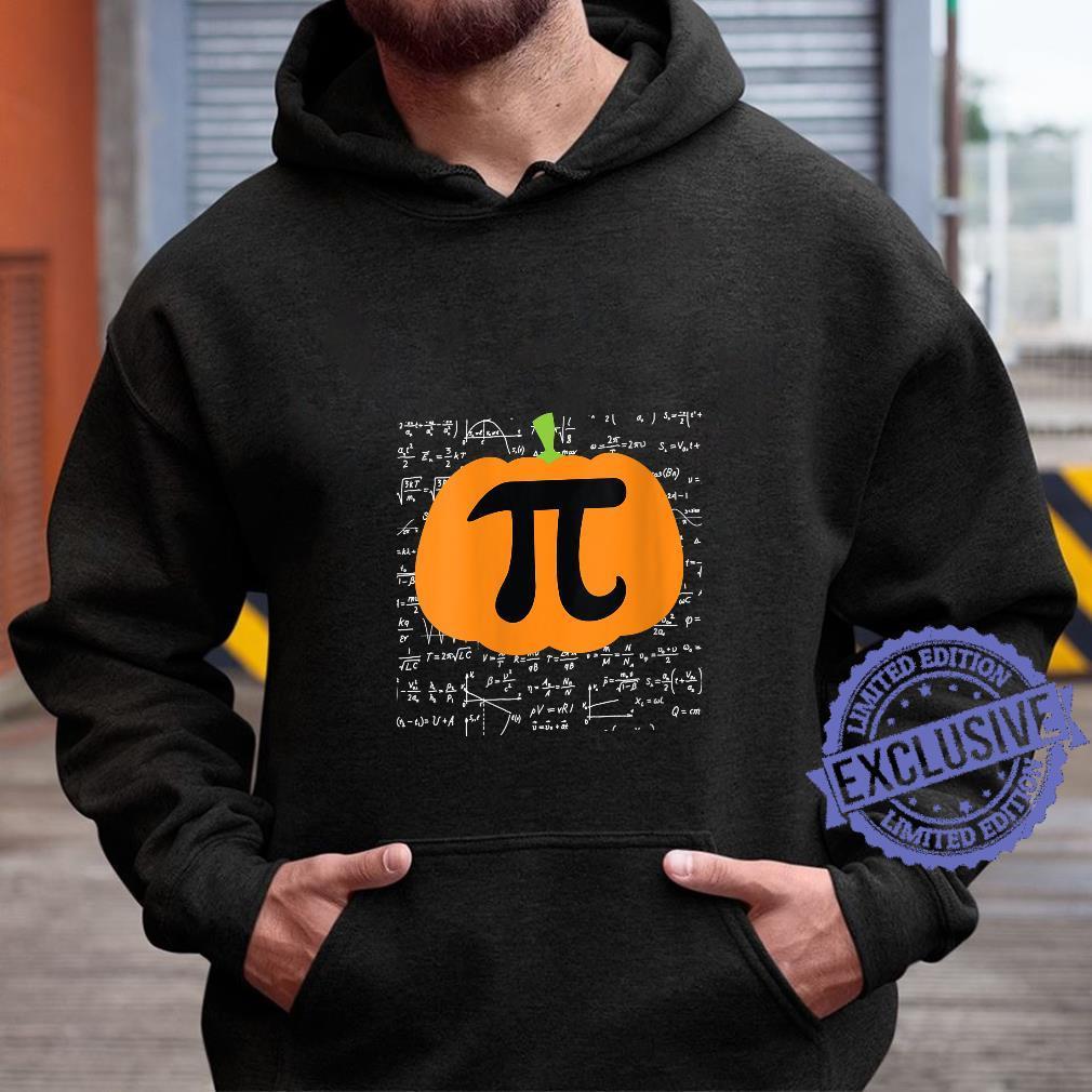 Womens Pumpkin Pi Halloween Trick or Treat Thanksgiving Shirt hoodie