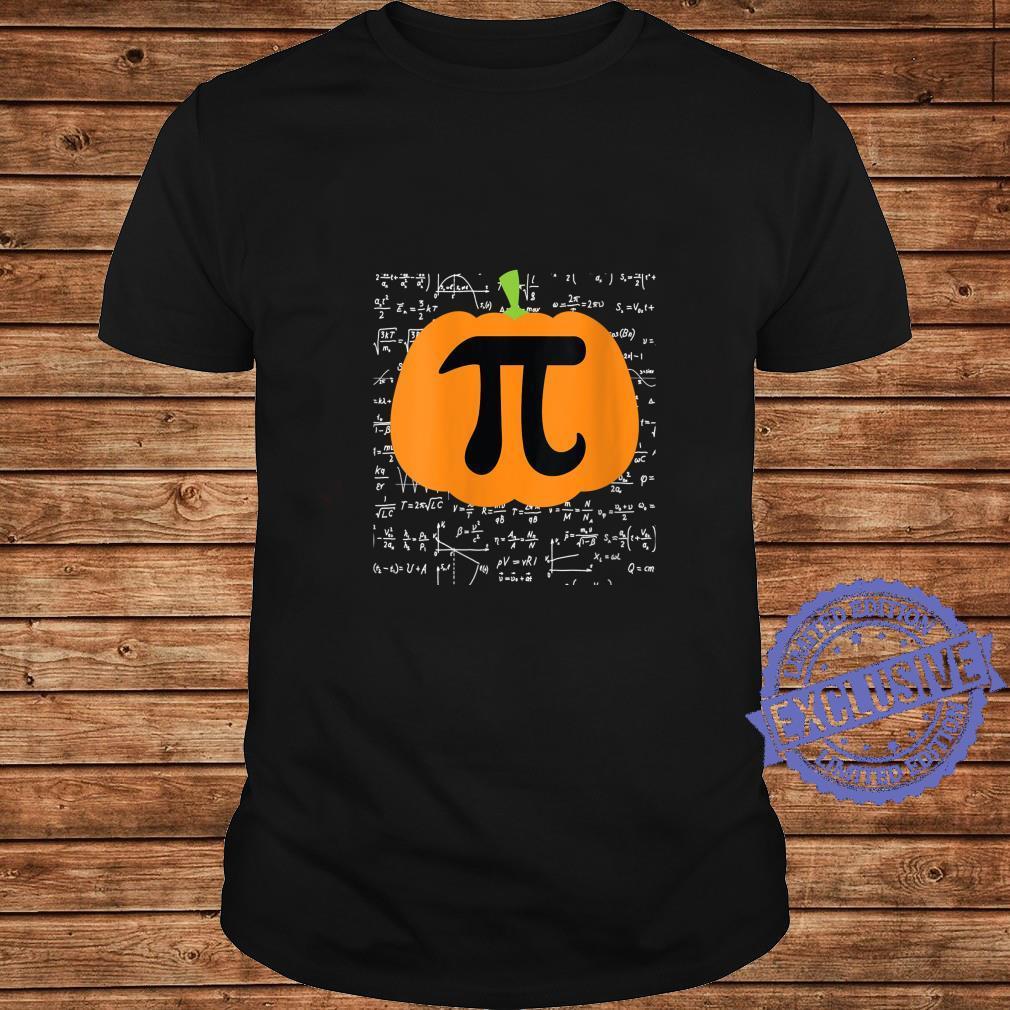 Womens Pumpkin Pi Halloween Trick or Treat Thanksgiving Shirt long sleeved