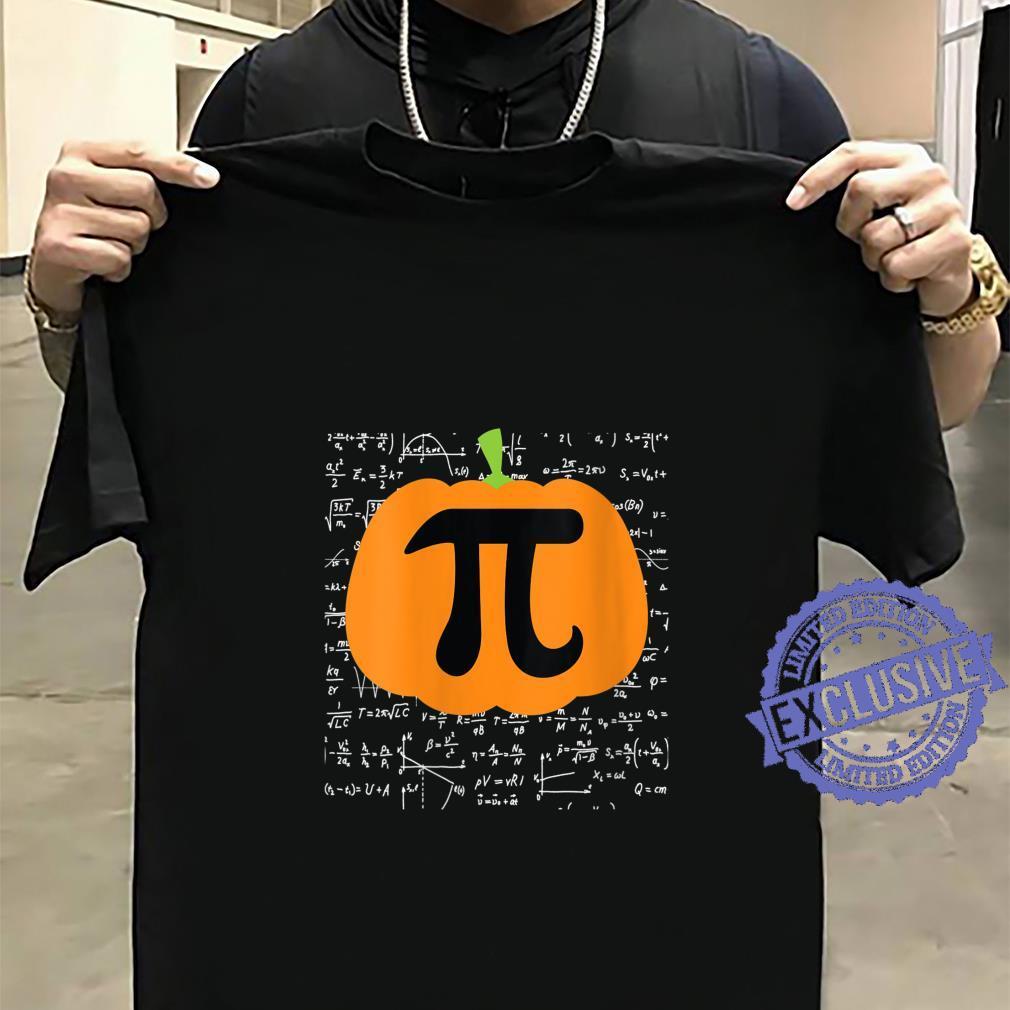 Womens Pumpkin Pi Halloween Trick or Treat Thanksgiving Shirt sweater