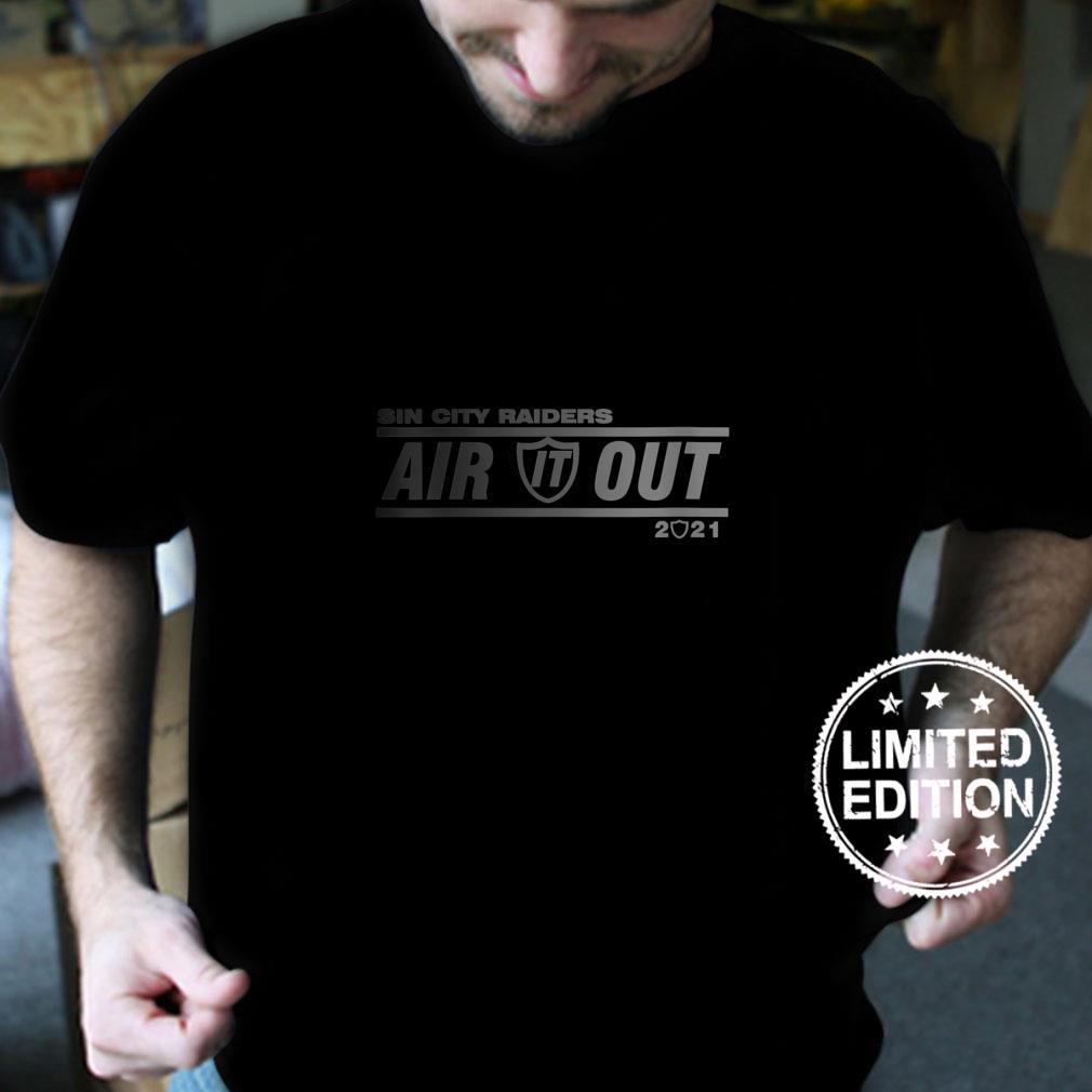 Womens Sin City Raiders Air Out Shirt