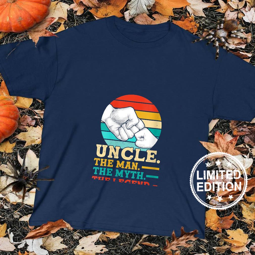 Womens Uncle. The man. The myth. The legend Uncle Shirt sweater