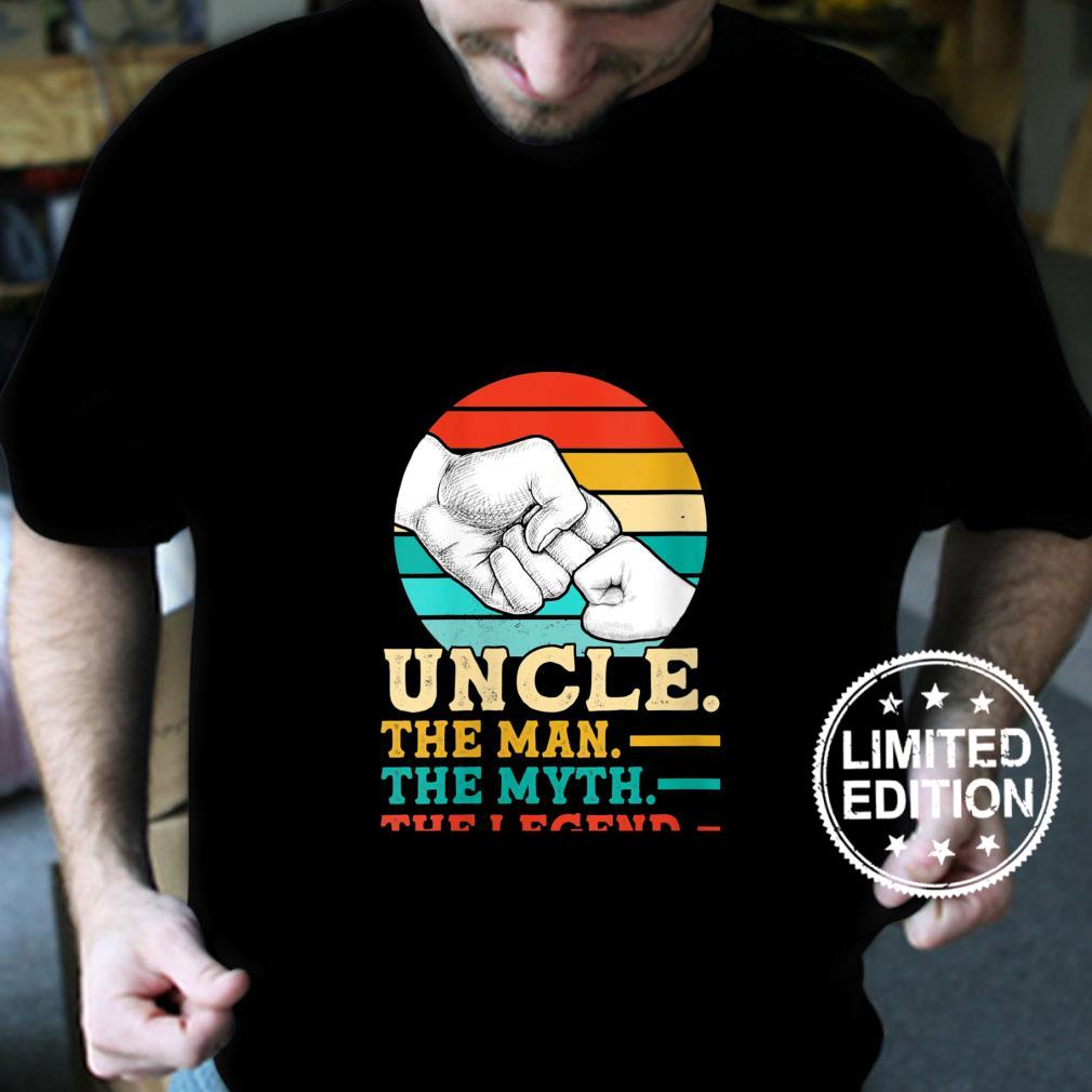 Womens Uncle. The man. The myth. The legend Uncle Shirt