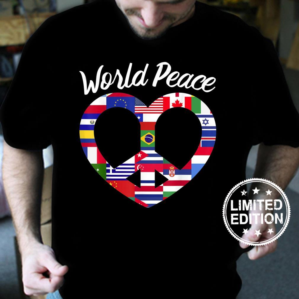 World Peace United Countries International Day Of Peace Shirt