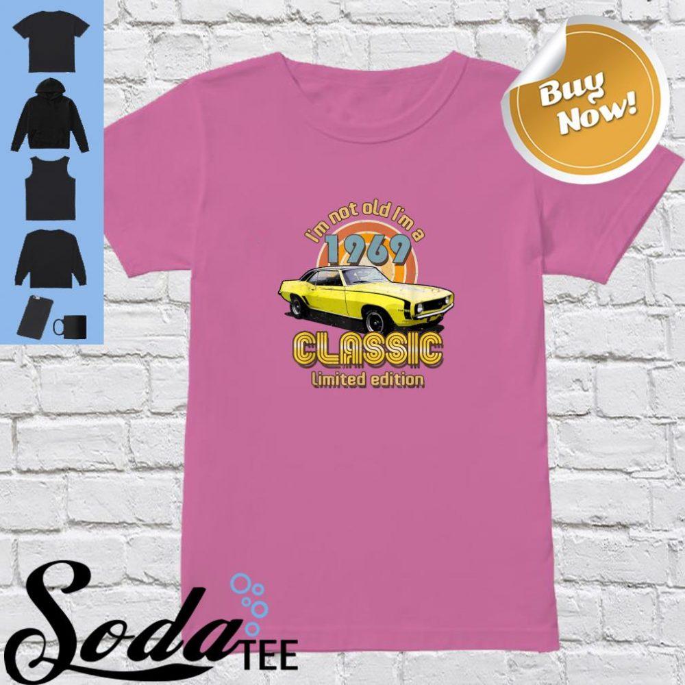 Born in 1969 Automotive Vintage Shirt ladies tee