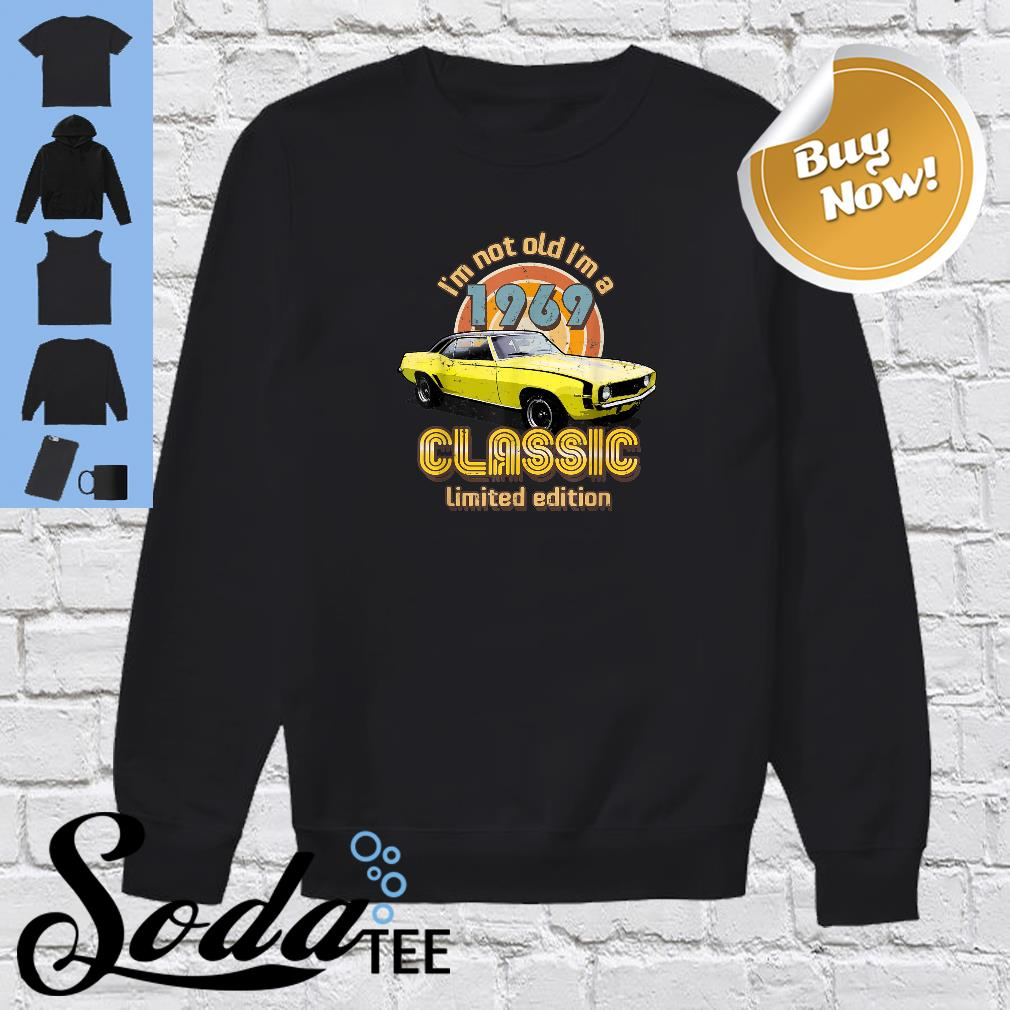 Born in 1969 Automotive Vintage Shirt sweater