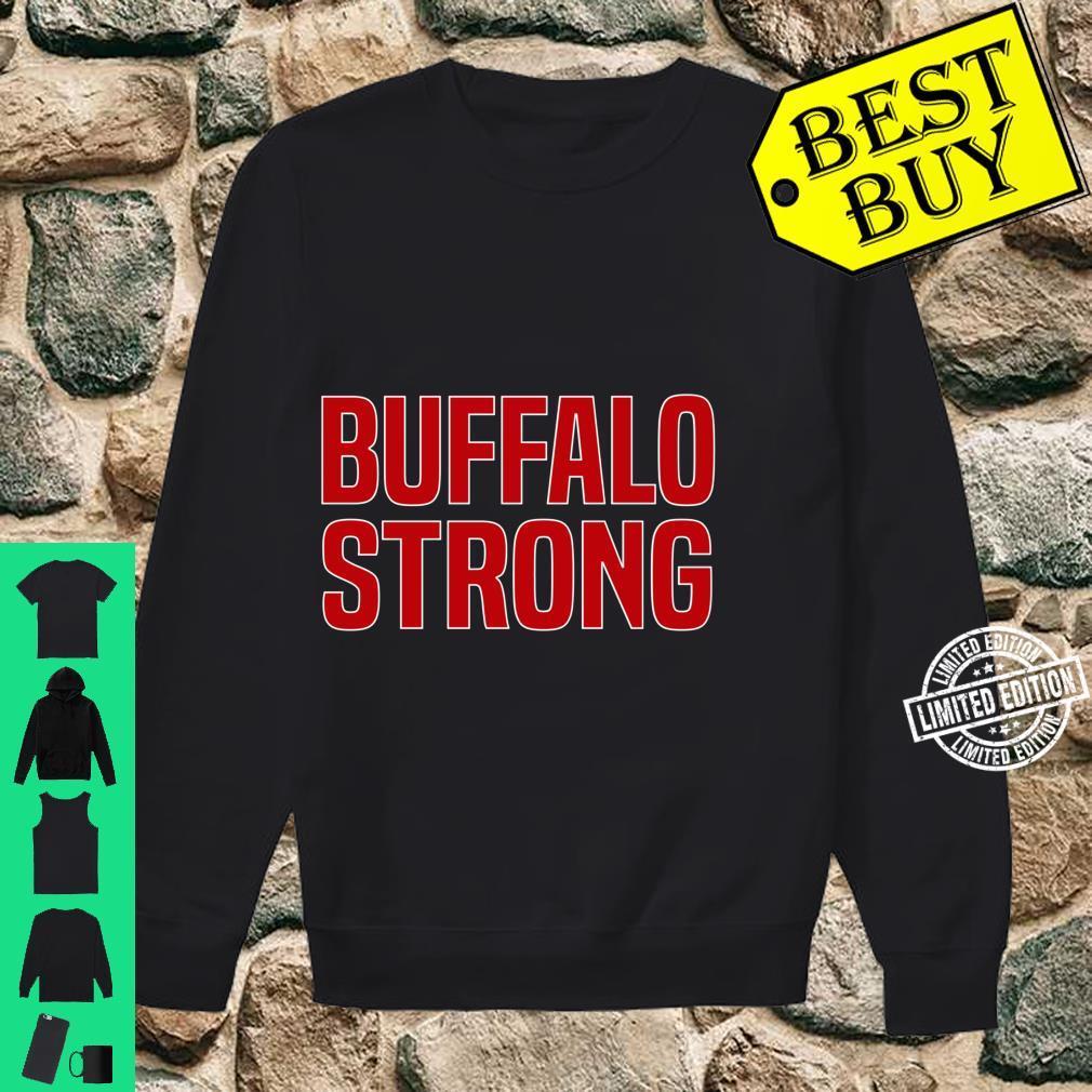 Buffalo Strong Blue Football Fan Buffalo Shirt sweater