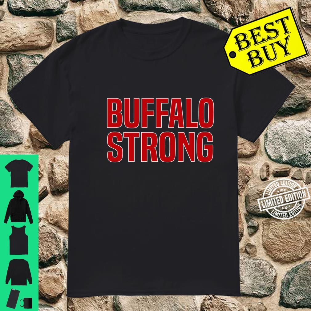 Buffalo Strong Blue Football Fan Buffalo Shirt