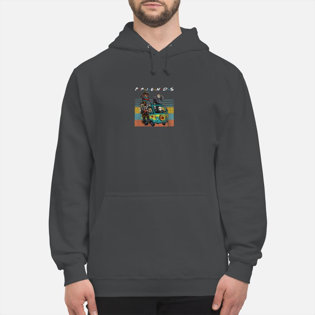 Friends tv show characters horror movies shirt hoodie