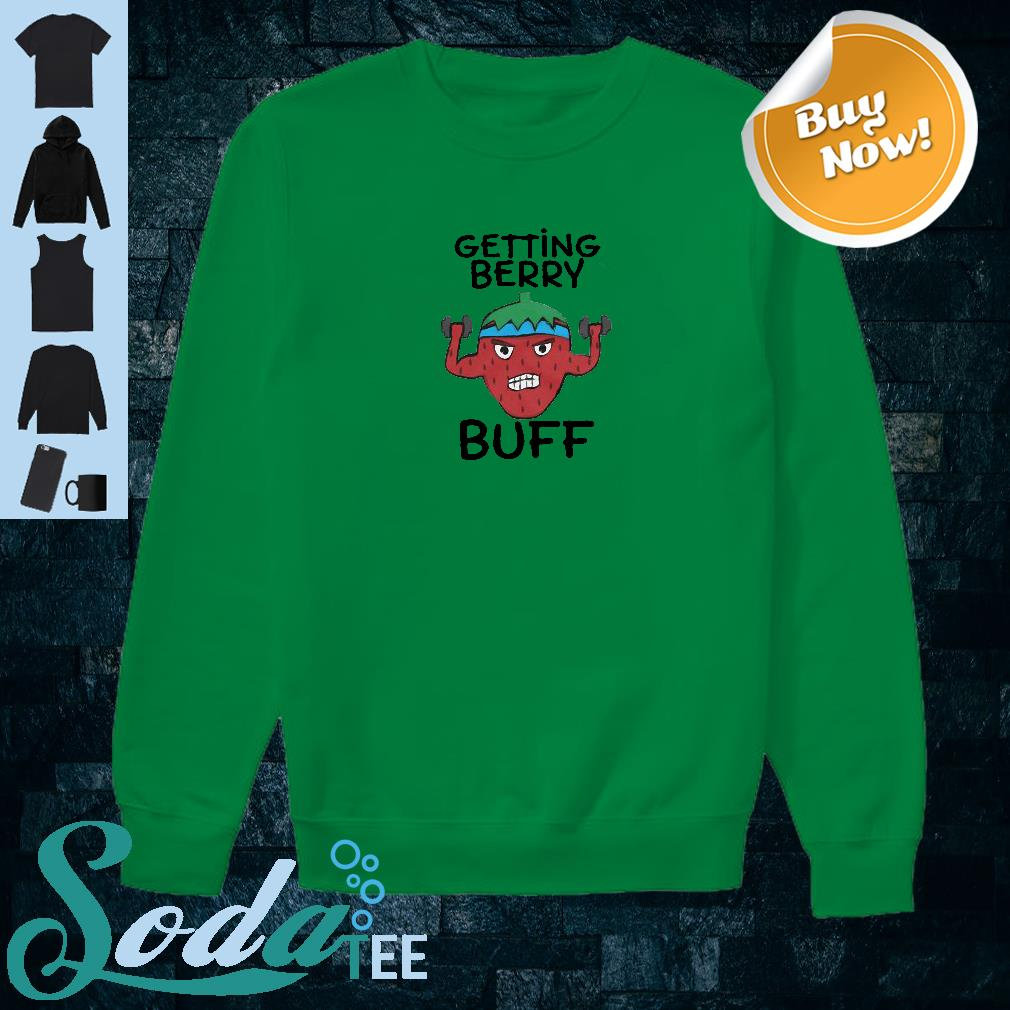Getting berry buff shirt sweater
