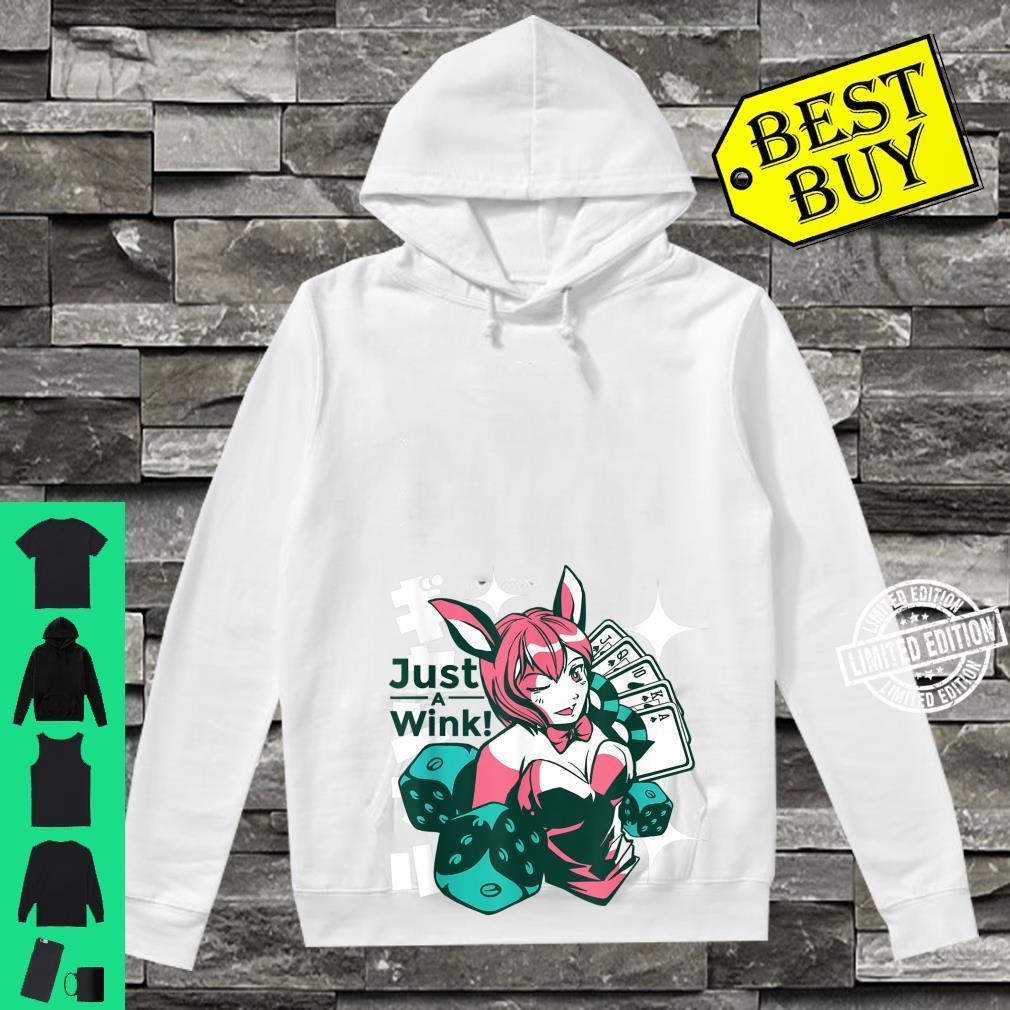 Kawaii Anime Winking Sexy Girl Shirt hoodie