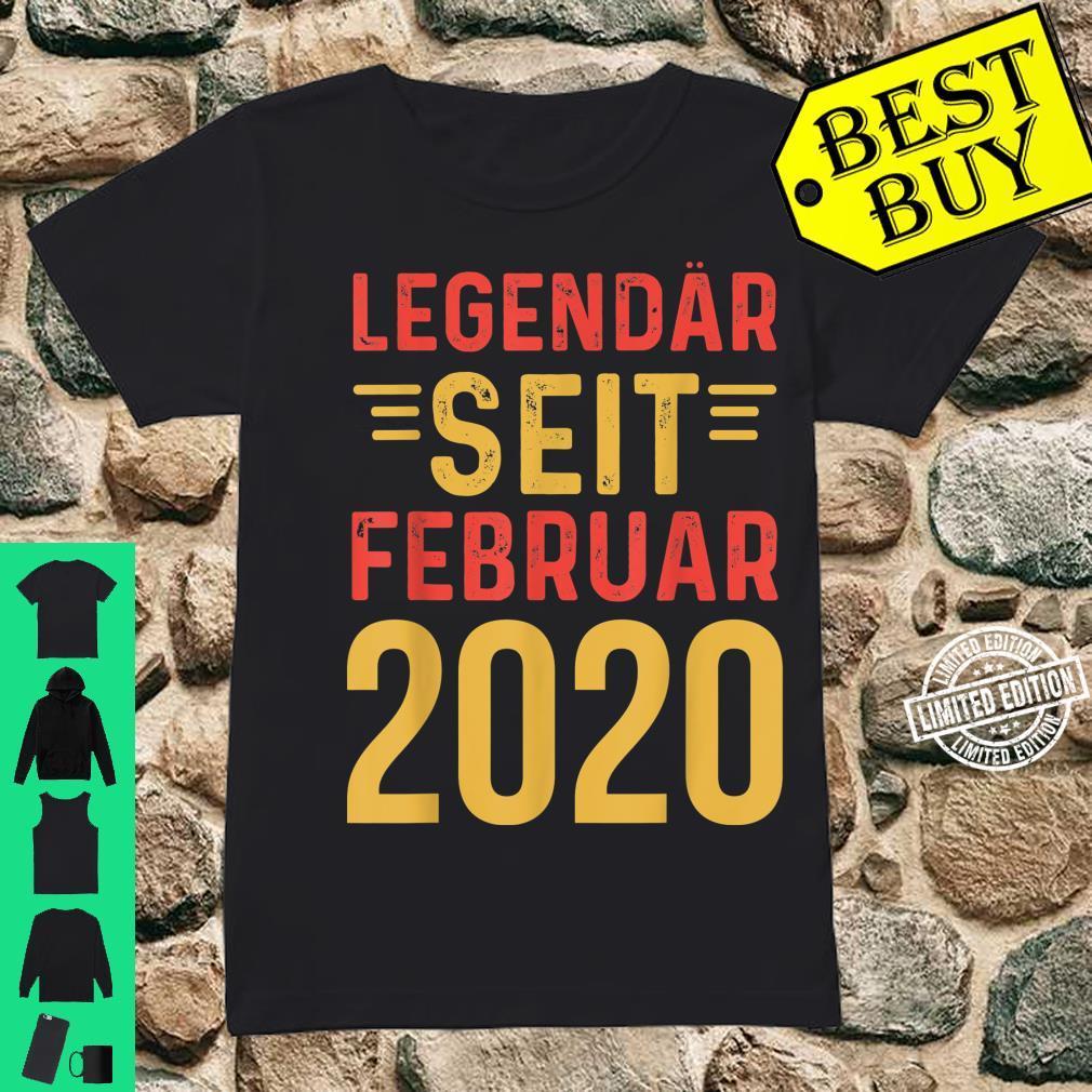 Legendär Februar 2002 18. Volljährig Shirt ladies tee