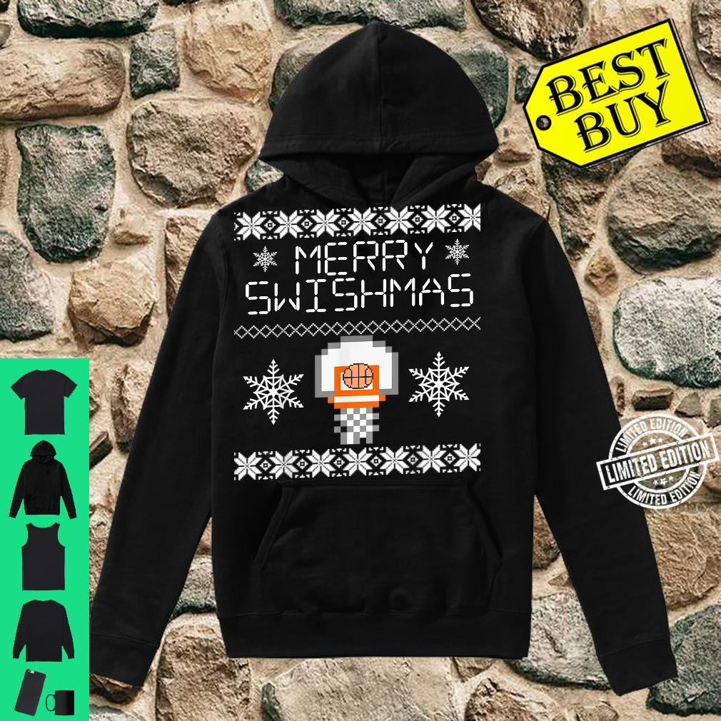 Merry Swishmas Holiday Christmas Ugly Shirt hoodie