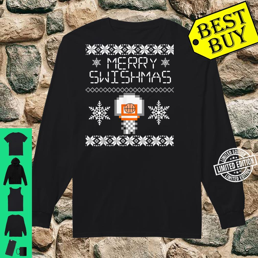 Merry Swishmas Holiday Christmas Ugly Shirt long sleeved
