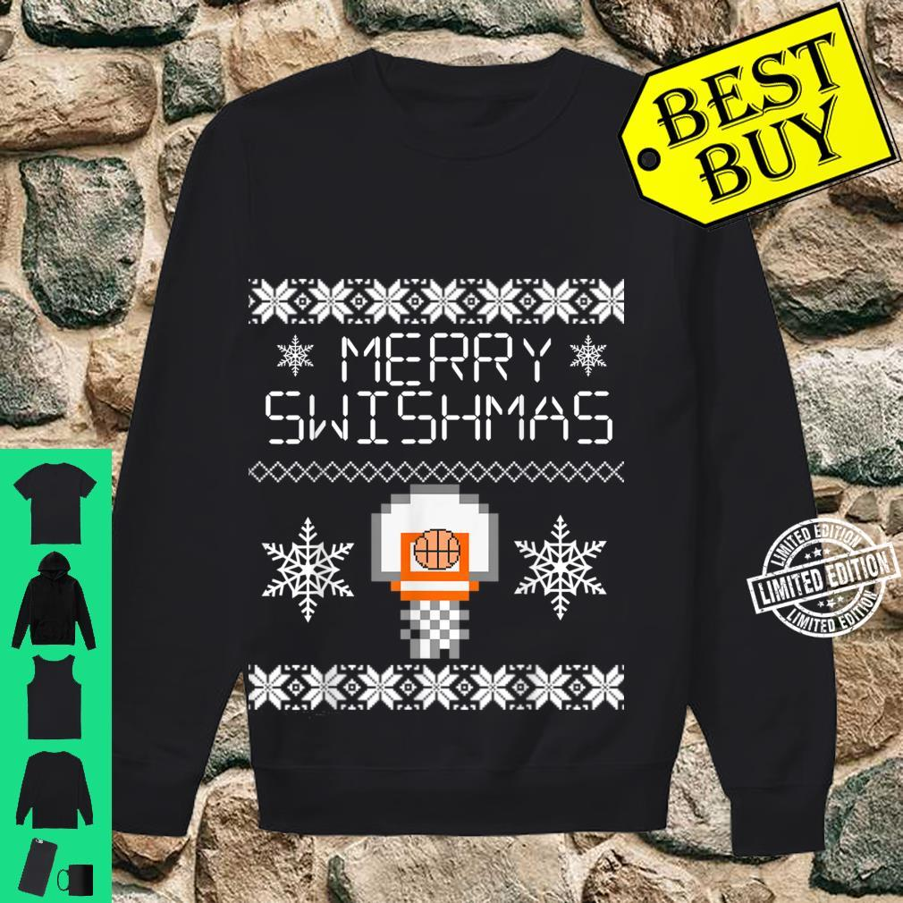 Merry Swishmas Holiday Christmas Ugly Shirt sweater