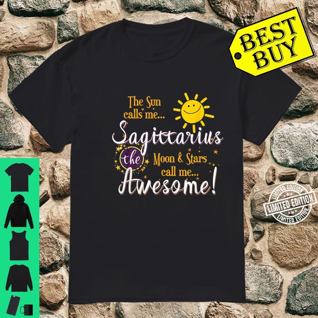 Sagittarius Sun Sign Zodiac Astrology Birthday Party Apparel Shirt