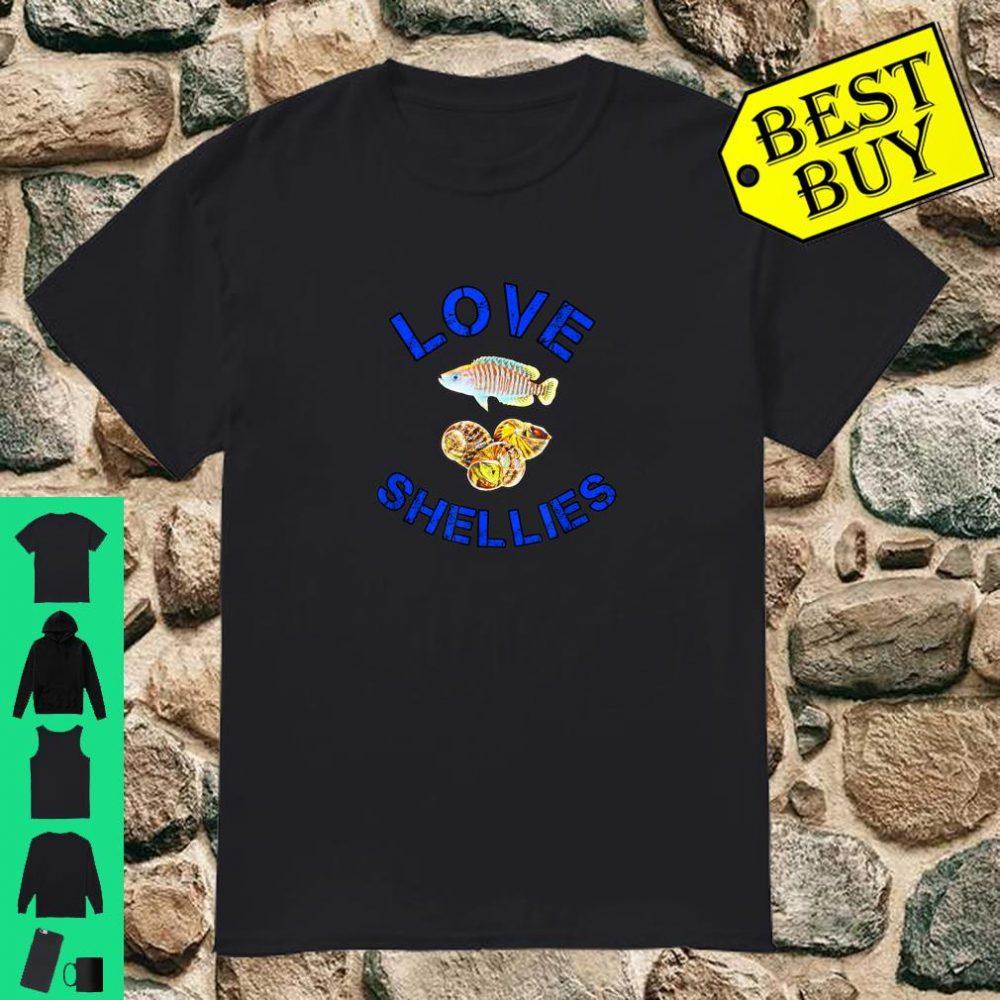 Shell Dweller Cichlids Multifasciatus Owners Breeders Gift shirt
