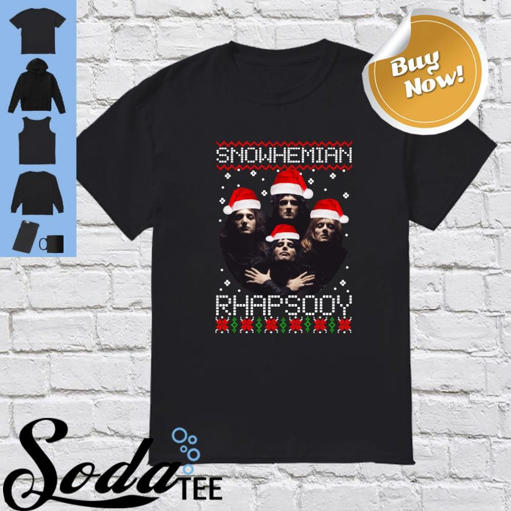 Snowhemian Rhapsody Christmas Shirt