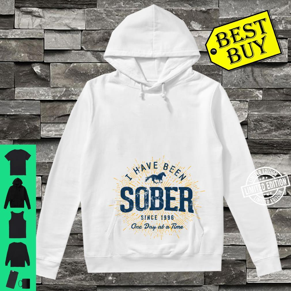 Sober Since 1996 Sobriety 25 Year Sober Shirt hoodie