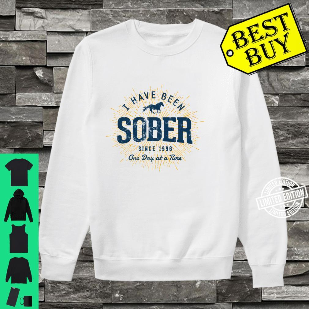 Sober Since 1996 Sobriety 25 Year Sober Shirt sweater