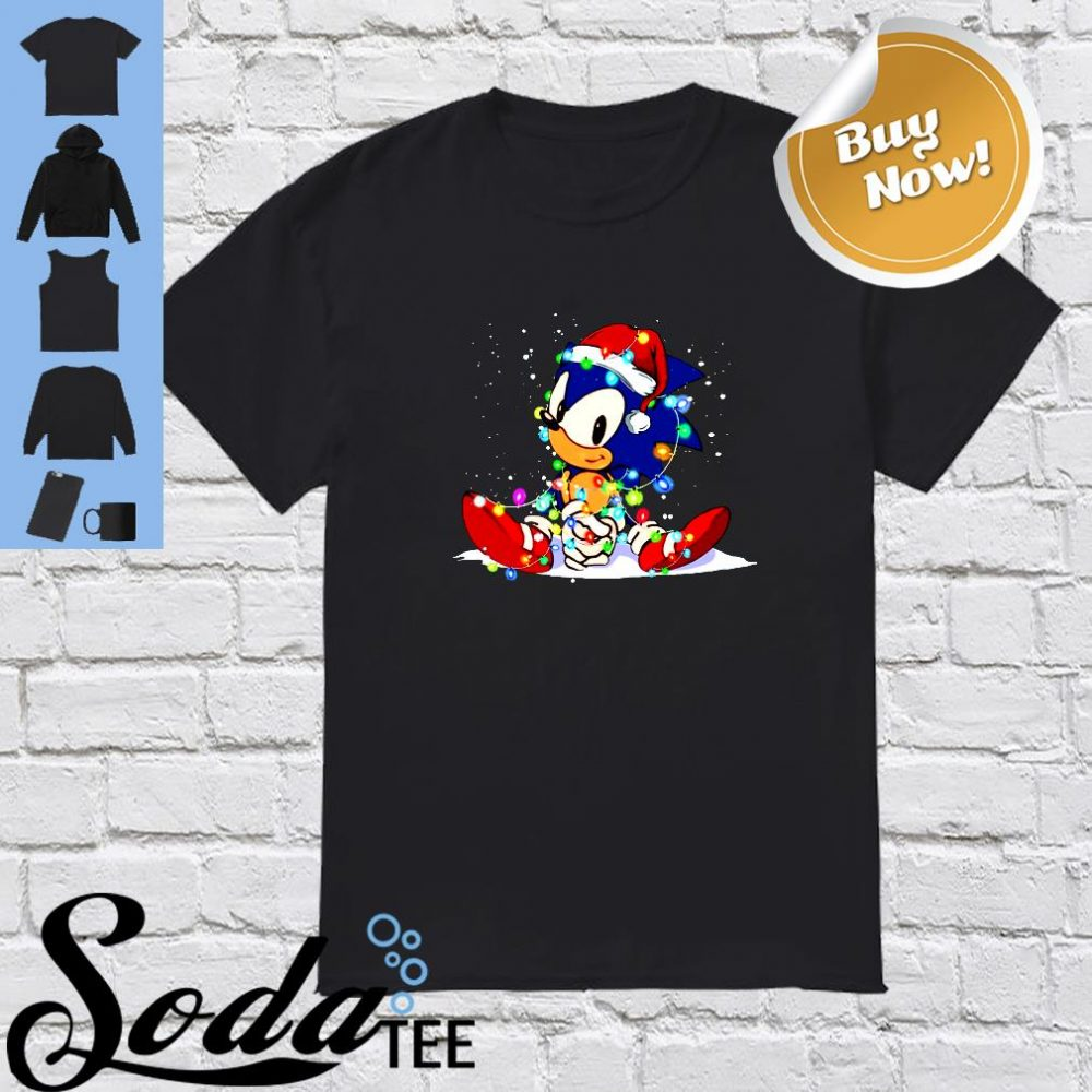 Sonic light christmas shirt
