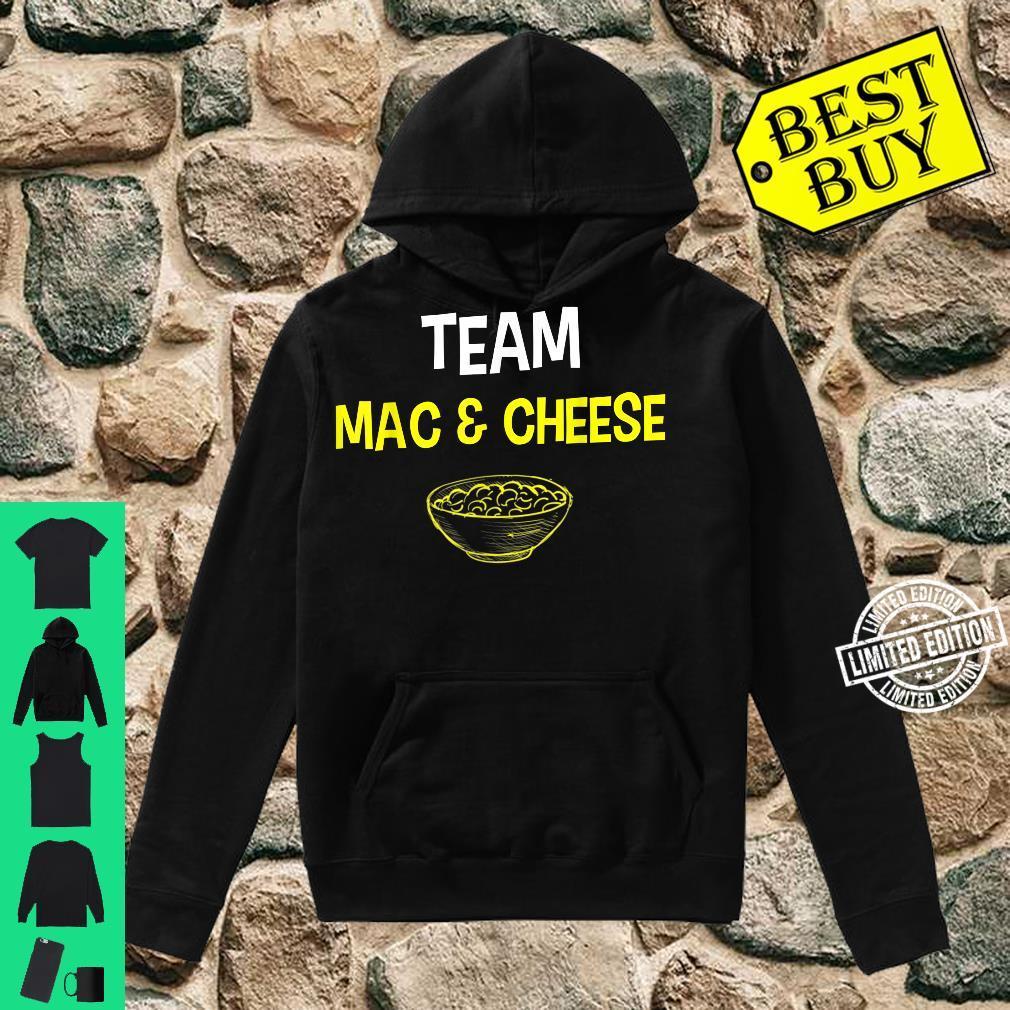 Team Mac And Cheese Family Matching Thanksgiving Shirt hoodie