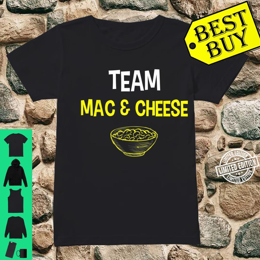 Team Mac And Cheese Family Matching Thanksgiving Shirt ladies tee