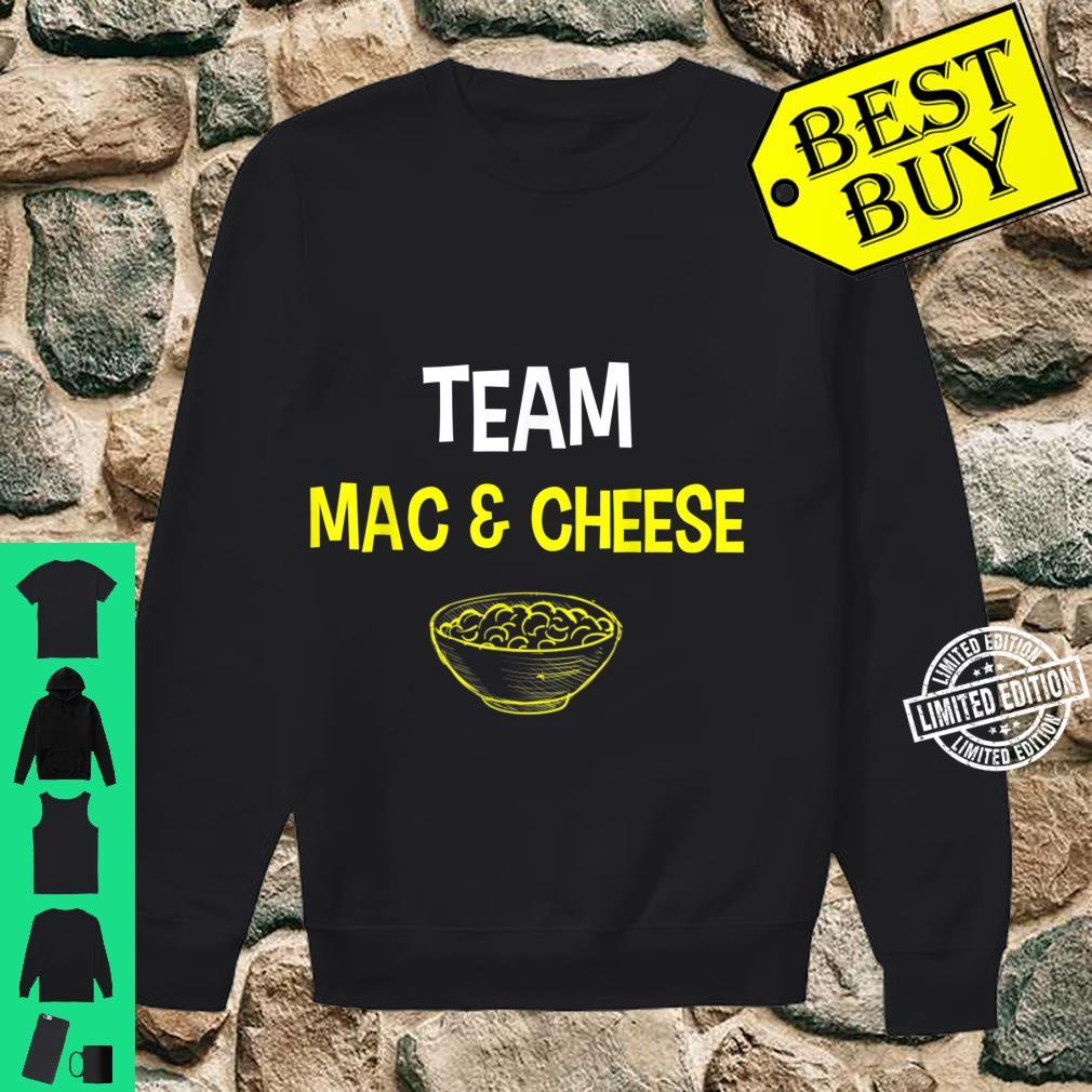 Team Mac And Cheese Family Matching Thanksgiving Shirt sweater