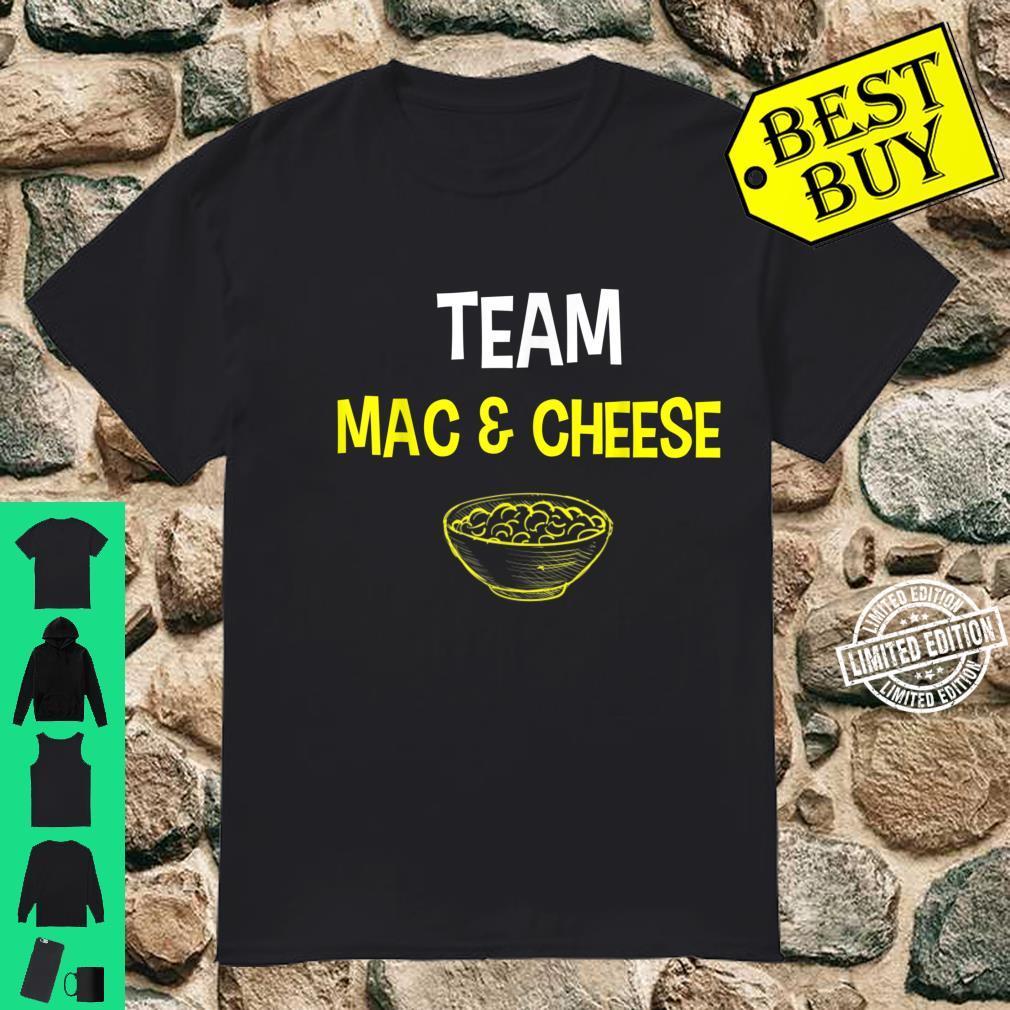 Team Mac And Cheese Family Matching Thanksgiving Shirt