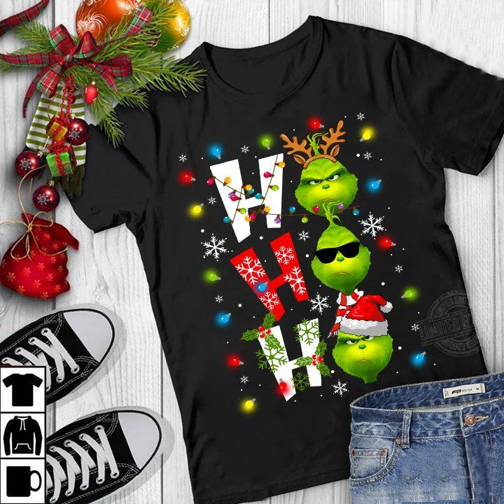 The Ginch Ho Ho Ho Light Christmas Shirt