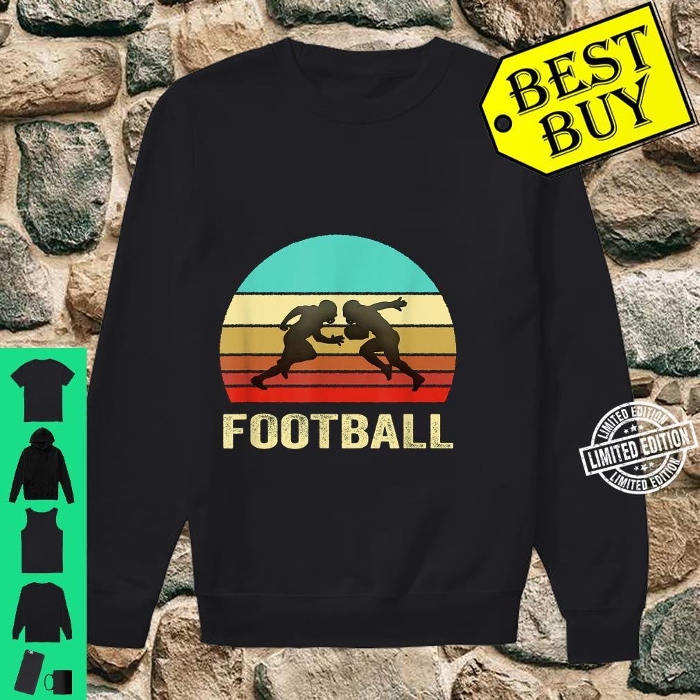 Vintage Retro Style Sunset Football Shirt sweater