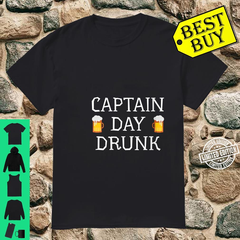 Womens Captain Day Drunk Alcohol Drinking Party Beers Shirt