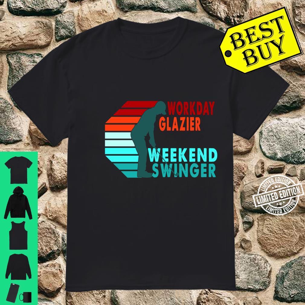 Workday Glazier Weekend Swinger Golfer Golfing Shirt
